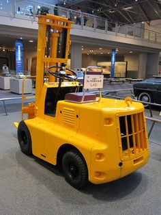 Toyota Forklift LA model 1956 Toyota commemorative museum of industry and technology