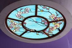 Stained glass ceiling. Витражный потолок.Витражная мастерская Анатолия Тамакова +7(918)452-31-99 Витражи Тиффани Краснодар