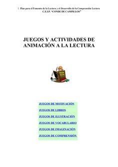 3. juego y_actividades_de_animacion_a_la_lectura by andreagrandegarcia via slideshare