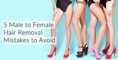 Male to Female Hair Removal Mistakes to Avoid There's nothing like silky smooth skin to make a girl feel extra feminine! Hair removal is an essential part of your feminine image. Transgender Tips, Male To Female Transgender, Feminine Face, Feminine Style, Male To Female Transformation, Makeup Transformation, Feminized Boys, Image Skincare, Laser Hair Removal