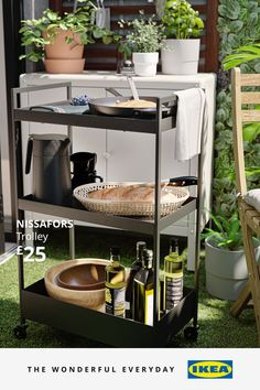 Some of the world's biggest sporting events are nearly here, which means now is the perfect time to prepare. You'll find lots of brilliant ideas to host friends or family at home, so when the sport's on, you'll be warmed up and ready to go – whatever the British weather. Kitchen Island Trolley, Kitchen Cart, Extra Storage Space, Storage Spaces, Working Area, Beautiful Gardens, Decoration, Cleaning Wipes, Small Spaces