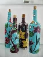 Resultado de imagem para santa claus en botellas de vidrio