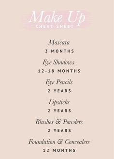 FREE PRINTABLE Make Up Cheat Sheet _ Pretty Fluffy.jpg