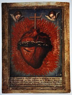 Sacred Heart of Jesus, have mercy on us!  The Sacred Heart is the image of the Incarnation; the burning love of God for us