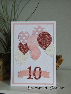 Scrap' à Coeur: Des bouquets de ballons...