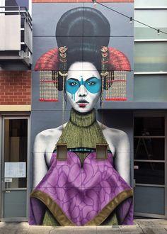 """Zaluuokhin"" by Fin DAC in Adelaide | StreetArtNews | StreetArtNews"