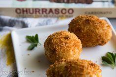 Brazilian Chicken Fritters Recipe | Fake Food Free