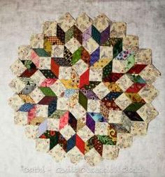 Scrappy Star by quilt obsession One for EPP I think. Star Quilts, Scrappy Quilts, Mini Quilts, Quilt Blocks, Star Blocks, Quilt Kits, English Paper Piecing, Quilting Projects, Quilting Designs