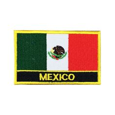 real mexican flag
