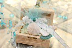 Treasure Chest Beach Theme Wedding Favor by LynnsPartyFavors, $5.99