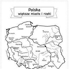 Kolorowanki, ubieranki, karty do wydrukowania. - Printoteka.pl Teacher Morale, Polish Language, Pusheen, Patriots, Homeschool, Study, Flag, How To Plan, Education