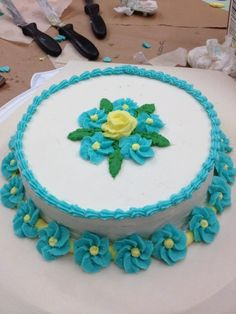 #wiltoncontest #Michaels, Merced, CA    my first cake!