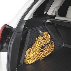 Subaru Outback (2010-2011). #F551SAJ200: Cargo Net - Rear Side Compartment Set (2) - Outback