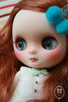 Custom Commission Middie Blythe Doll. | Flickr - Photo Sharing!