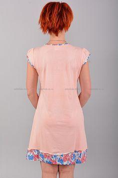 Домашнее платье В0085 Цена: 350 руб Симпатичное, домашнее платье выполнено из комфортного материала. Модель комфортного кроя, украшена контрастным принтом. Состав: 65 % хлопок, 35 % полиэстер. Размеры: XL 2XL 3XL  http://odezhda-m.ru/products/domashnee-plate-v0085  #одежда #женщинам #домашняяодежда #одеждамаркет
