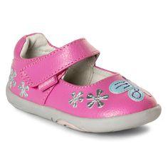 Grip 'n' Go™ Allyson Pink Berry   #kids #shoes #pediped #children #childrenswear #fashion #kidswear #ss17