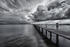 Drama in black and white by maureen_g, via Flickr