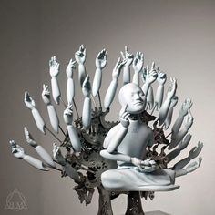 BetweenMirrors.com | Reflections In Art + Culture: Wang, Zi Won and the Meditating Mechanical Nirvana Sculptures