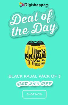 Black Kajal Pack