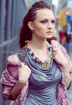 Sweet Dreams Chunky Monkey Statement Necklace from Abilu Creations
