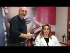 Cómo alisar el cabello con la plancha | facilisimo.com - YouTube