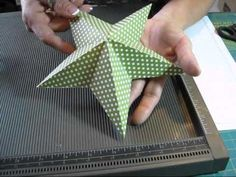 How to make a paper star!