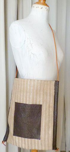 Shopper bag Shoppig bag Tote backpack bolso por ElTallerAnaGaspar