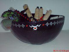 Witches bowl.  Handmade original.  Etsy  magicalcuriosityshop
