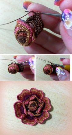 Master classes to this beauty from Asya (Galina) Verten. Motive \'Rose\' Part 1 // Инна Добжанская Irish Crochet Tutorial, Irish Crochet Patterns, Crochet Flower Tutorial, Crochet Designs, Crochet Leaves, Crochet Flowers, Freeform Crochet, Crochet Motif, Small Crochet Gifts