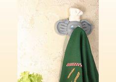Veja como fazer um suporte de biscuit para enfeitar a sua cozinha! Criar um porta pano de prato para