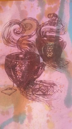 Cup print Abstract, Artwork, Work Of Art, Summary, Auguste Rodin Artwork