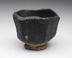 Tanba Black Tea Bowl - Masahiko Ichino