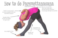 Today we're focusing on my current least favorite pose, haha. Ok, that's sort of an exaggeration - it's not that terrible, it's just really intense for the hamstrings! I definitely recommend a warm up before you give this a try.