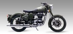 The Classic Battle Green comes to you with a paint scheme reminiscent of the War era, a time when Royal Enfield motorcycles proved their capabilities and battle worthiness by impeccable service to soldiers.