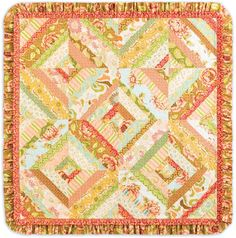 Free Pattern - Freshcut Lap Quilt by Heather Bailey