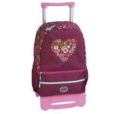 Mochila Escolar Carro Ruedas Folk by BUSQUETS: Amazon.es: Equipaje Busquets, Fashion Backpack, Folk, Backpacks, Bags, Stuff Stuff, School Backpacks, Baggage, Rolling Carts