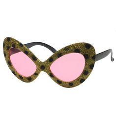 Leopard Party Glasses