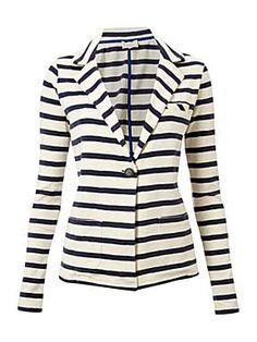Linea Weekend striped jersey blazer   £60.00