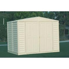 Buildings & Storage Sheds | Sheds-Plastic | DuraMax All Weather PVC Sheds - GlobalIndustrial.com