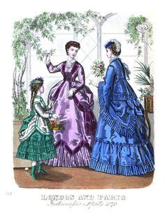 The London and Paris ladies' magazine of fashion 1870