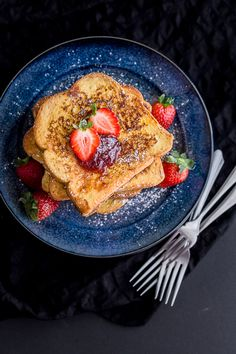 Brioche French Toast - Korean Style | Wandercooks