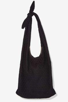 Nasty Gal x Nila Anthony Lucia Eyelet Bag - Bags + Backpacks
