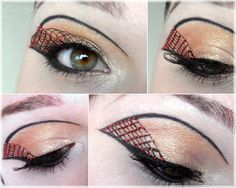 Beautyecke - Kreativgepinsel/ creative eye make up