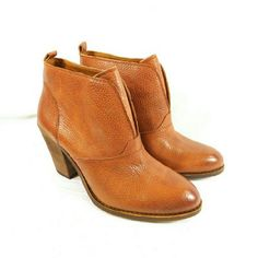 "Lucky Brand Ehllen Toffee Leather Boots Thanks for checking out my closet. I take all my own pics. The boots are authentic and new in box. The boots are made of leather and are pull-on style. Boots have 3"" heel. Lucky Brand Shoes Ankle Boots & Booties"