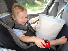 101 Toddler Activities on Road Trips!   The hundred miles to Billings and from Billings is sooooooo long with a fussy toddler.   Good ideas -- I think I will add the wipe box with the cloth wipes.  I like the felt board idea.