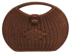 Laura Ashley-Rattan Basket Purse