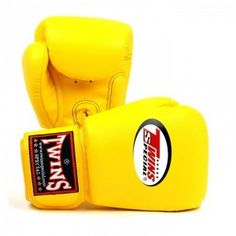 Rękawice bokserskie Twins BGVL-3 (yellow)   Sklep sportowy B-FIGHT