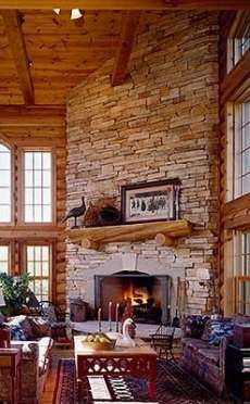 I like the mantle on this one.  corner fireplace designs