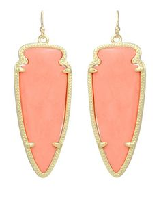 Skylar Earrings in Coral - Kendra Scott Jewelry.