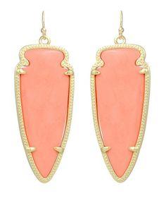 Skylar Earrings in Coral - Kendra Scott Jewelry.